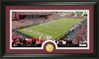 Texas A&M University Stadium Bronze Coin Panoramic Photo Mint