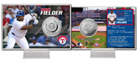 Prince Fielder Silver Coin Card