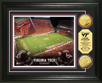 Virginia Tech Gold Coin Photo Mint