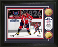 Alex Ovechkin Franchise All Time Points Leader Gold Coin Photo Mint