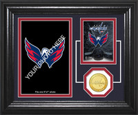 Washington Capitals Fan Memories Bronze Coin Desktop Photo Mint