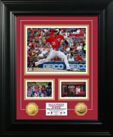 Max Scherzer No-Hitter Marquee Gold Coin Photo Mint