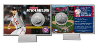 Stephen Strasburg Silver Coin Card