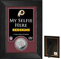 Washington Redskins Selfie Minted Coin Mini Mint