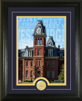 West Virginia University Campus Traditions Bronze Coin Photo Mint