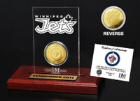 Winnipeg Jets  Etched Acrylic Desktop