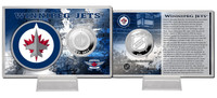 Winnipeg Jets Silver Coin Card
