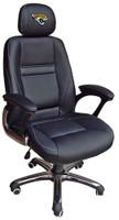 Jacksonville Jaguars Head Coach Leather Office Chair
