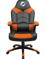 Miami Dolphins Leather Office Chair