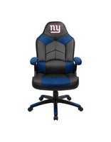 New York Giants Leather Office Chair