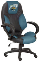 Jacksonville Jaguars Commissioner Leather Office Chair