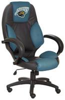 Jacksonville Jaguars Commissioner Leather Office Chair