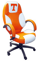Tennessee Volunteers Commissioner Leather Office Chair