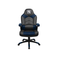 New York Yankees Leather Office Chair