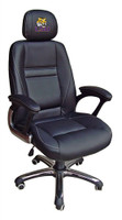 LSU Tigers Head Coach Leather Office Chair