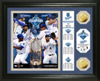 "Kansas City Royals 2015 World Series Champions ""Banner"" Gold Coin Photo Mint"