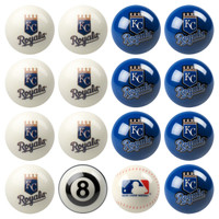 *Kansas City Royals Pool Ball Set