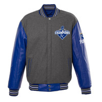 **Kansas City Royals 2015 World Series Champions Reversible Wool Jacket