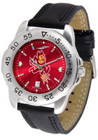 Arizona State Sun Devils Sport Leather AnoChrome Watch (Men's or Women's)
