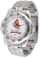 Arizona State Sun Devils Sport Stainless Steel Watch (Men's or Women's)