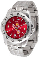 Arizona State Sun Devils Sport Stainless Steel AnoChrome Watch (Men's or Women's)