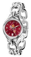 Arizona State Sun Devils Ladies Silver Eclipse AnoChrome Watch