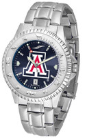 Arizona Wildcats Competitor Stainless Steel AnoChrome Watch (Men's or Women's)