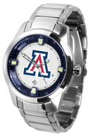 Arizona Wildcats Titan Stainless Steel Watch