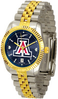 Arizona Wildcats Executive  2-Tone 23k Gold AnoChrome Stainless Steel Watch (Men's or Women's)