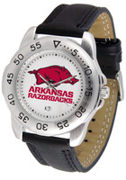 Arkansas Razorbacks Sport Leather Watch (Men's or Women's)