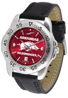 Arkansas Razorbacks Sport Leather AnoChrome Watch (Men's or Women's)