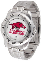 Arkansas Razorbacks Sport Stainless Steel Watch (Men's or Women's)