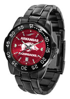 Arkansas Razorbacks Fantom Gunmetal Sport AnoChrome Watch (Men's or Women's)