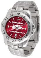 Arkansas Razorbacks Sport Stainless Steel AnoChrome Watch (Men's or Women's)
