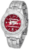 Arkansas Razorbacks Competitor Stainless Steel AnoChrome Watch (Men's or Women's)