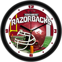 Arkansas Razorbacks 12 Inch Round Wall Clock
