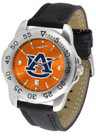 Auburn Tigers Sport Leather AnoChrome Watch (Men's or Women's)
