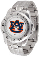 Auburn Tigers Sport Stainless Steel Watch (Men's or Women's)