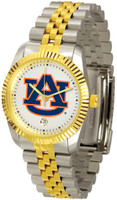 *Auburn Tigers Executive  2-Tone 23k Gold Stainless Steel Watch (Men's or Women's)