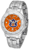 Auburn Tigers Competitor Stainless Steel AnoChrome Watch (Men's or Women's)