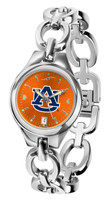 Auburn Tigers Ladies Silver Eclipse AnoChrome Watch
