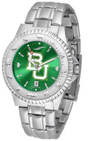 Baylor Bears Competitor Stainless Steel AnoChrome Watch (Men's or Women's)