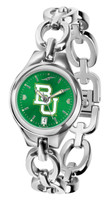 Baylor Bears Ladies Silver Eclipse AnoChrome Watch