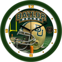 Baylor Bears 12 Inch Round Wall Clock