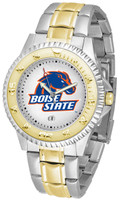 Boise State Broncos Competitor 2-Tone 23k Gold Stainless Steel Watch (Men's or Women's)