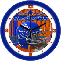 Boise State Broncos 12 Inch Round Wall Clock