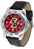 Boston College Eagles Sport Leather AnoChrome Watch (Men's or Women's)