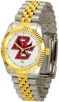 Boston College Eagles Executive  2-Tone 23k Gold Stainless Steel Watch (Men's or Women's)