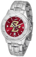 Boston College Eagles Competitor Stainless Steel AnoChrome Watch (Men's or Women's)
