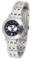 BRIGHAM YOUNG COUGARS Ladies Silver Stainless Steel Dynasty AnoChrome Watch